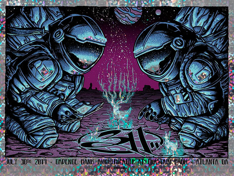 311 Audio Meditation Red Foil