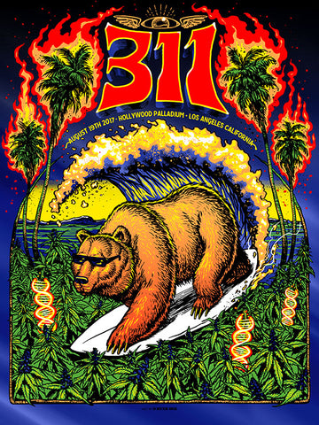 311 Winter Tour Green Sweater AP