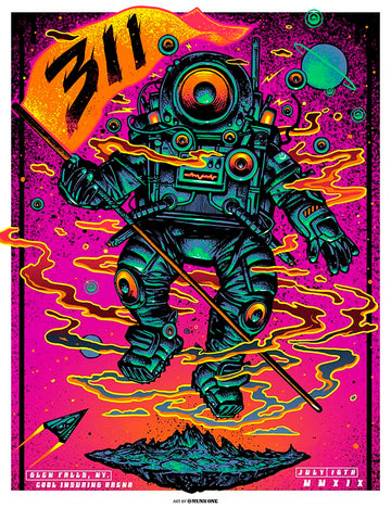 Blink-182 Arkansas FOIL - Rare