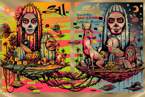 311 Audio Meditation Skateboard Deck