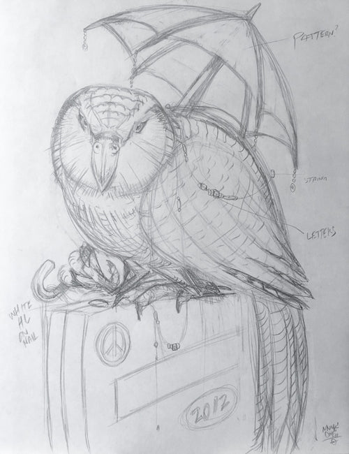 Kakapo Luggage Pencils