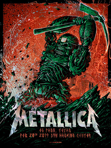 Metallica Lincoln Green AP