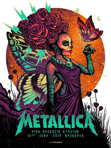 Metallica London Night1 Gold Foil AP