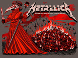 Metallica London Night2 Red Foil AP