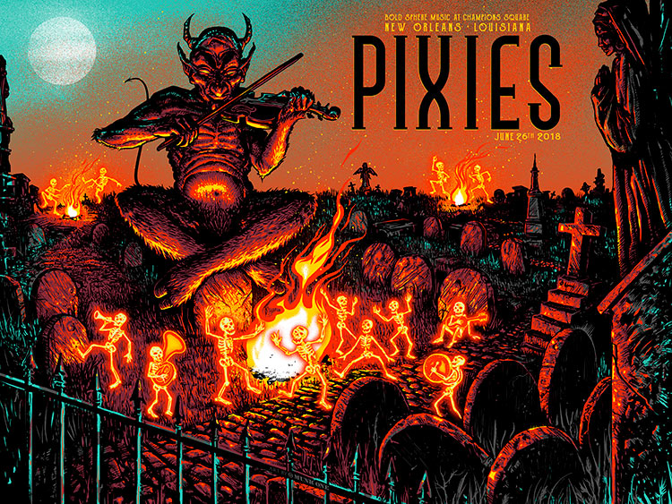 Pixies New Orleans