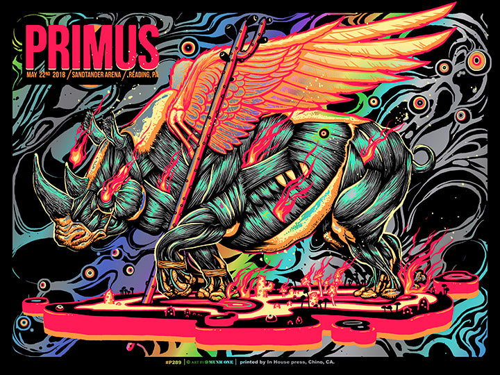 Primus Reading Rainbow Foil