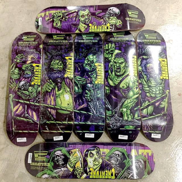 Creature Mania Skateboards