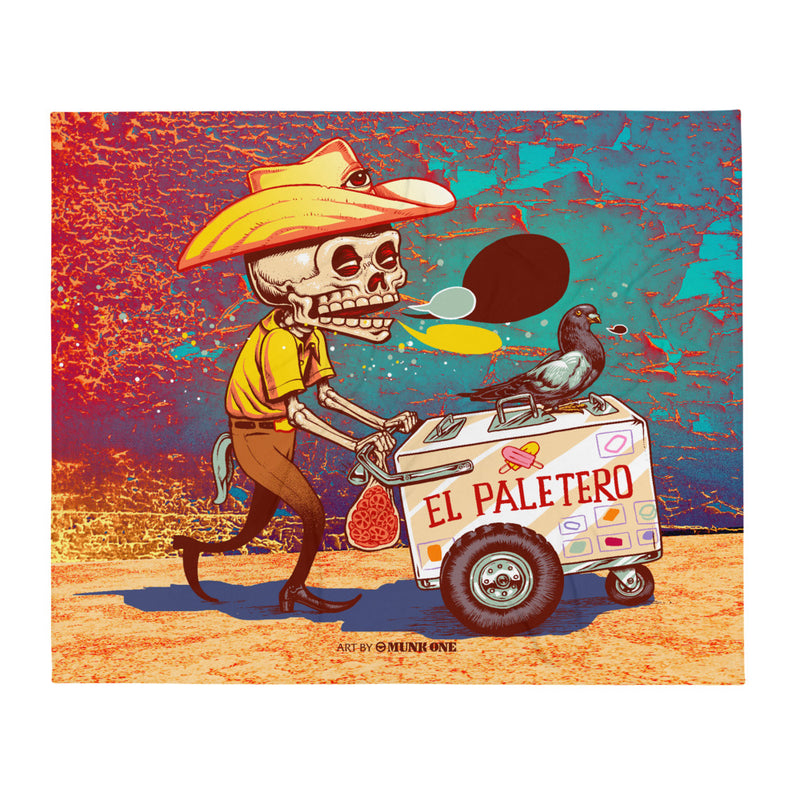 El Paletero Throw Blanket