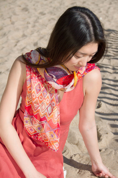Shadow Pattern Scarves