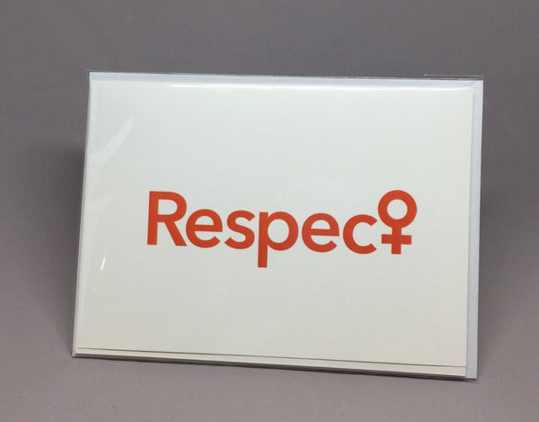 Respec♀ Notecard Set