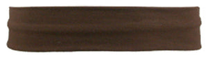 Lycra Headband - Brown