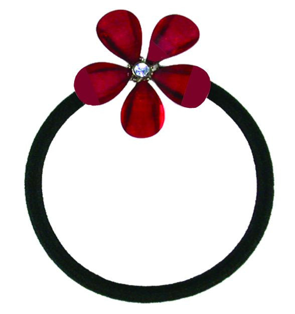 Crystal Flower Pony Elastics