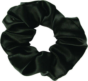 Satin Scrunch - Black