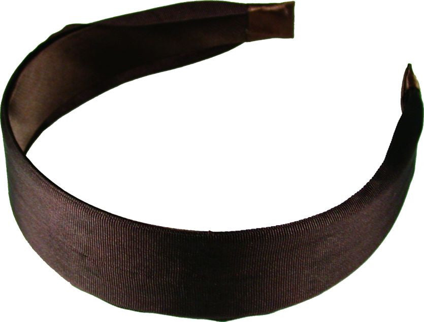 Ribbon Headband - Brown