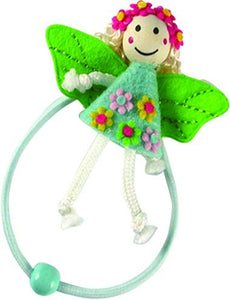 Fairy Doll Pony Elastics - Blue