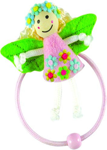 Fairy Doll Pony Elastics - Pink
