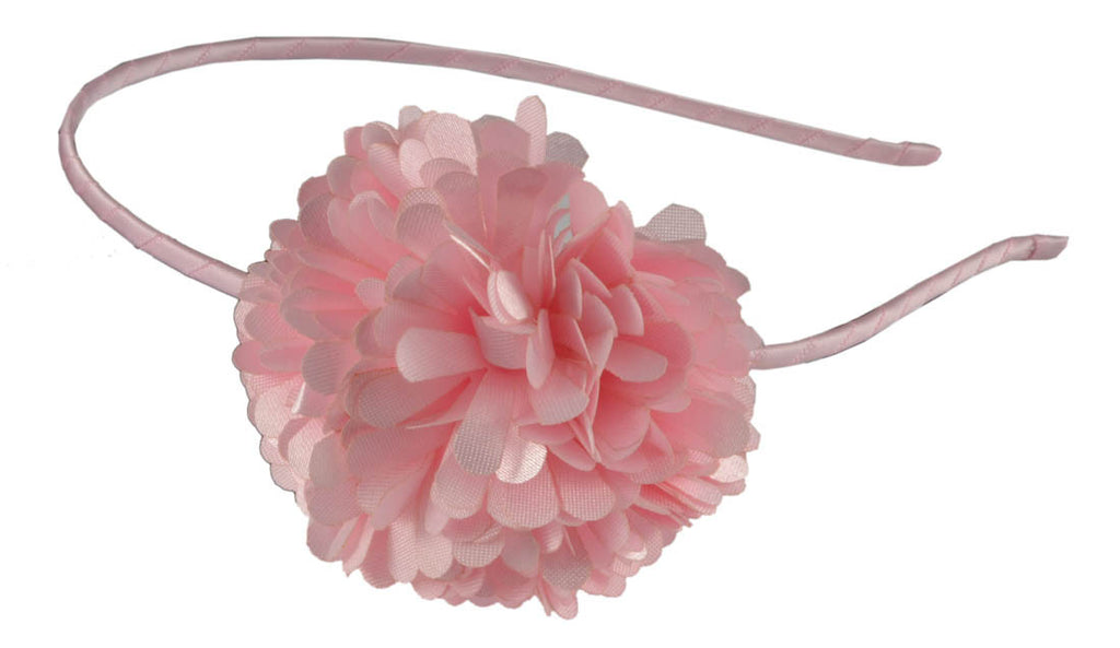 Pom Headband-Light Pink