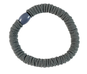 Mini Scrunchie Pony Elastics-Gray pr.