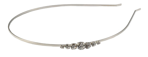 Thin Headband-Clear/Silver