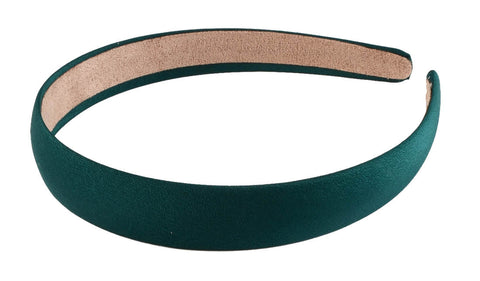"3/4"" Headband-Emerald Green"