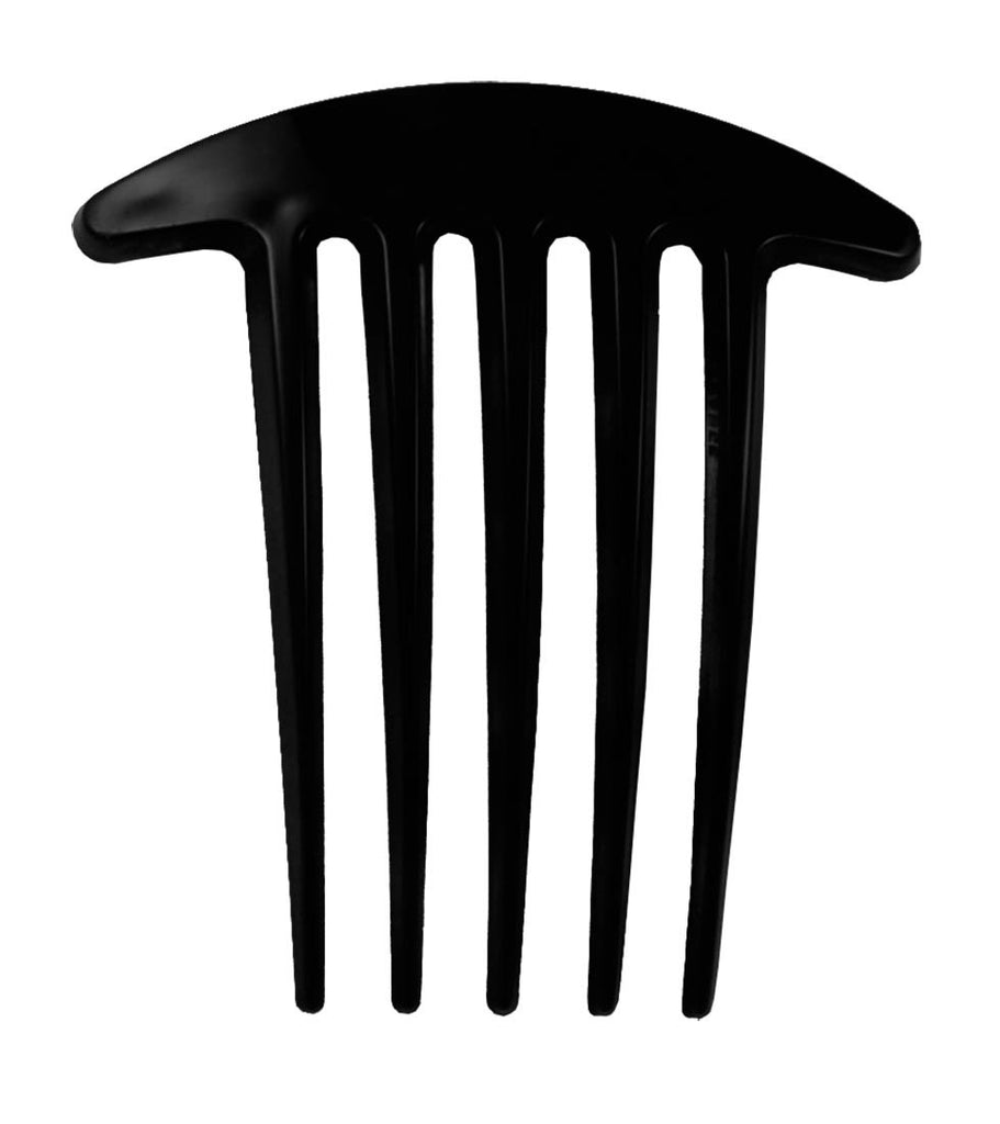 "Deep Teeth Comb 3""-Black"