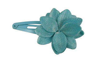 Flower Sleep Clip-Blue pr.