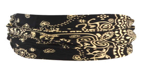 Bandana Headband-Black