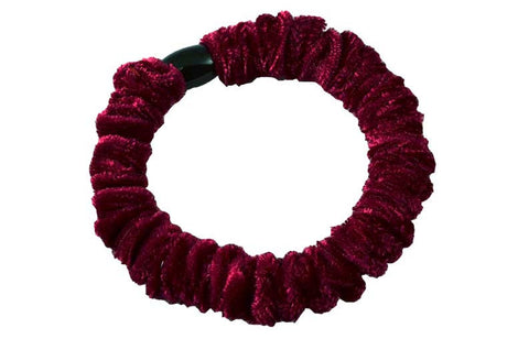 Velvet Mini Scrunch-Plum, pr.
