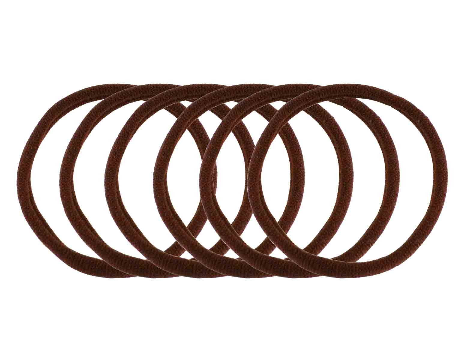 Absolute Seamless Elastics- Brown 6 pk
