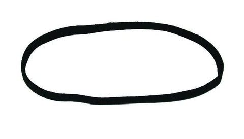 Wide Flat Metal Free Headband - Black (pr.)