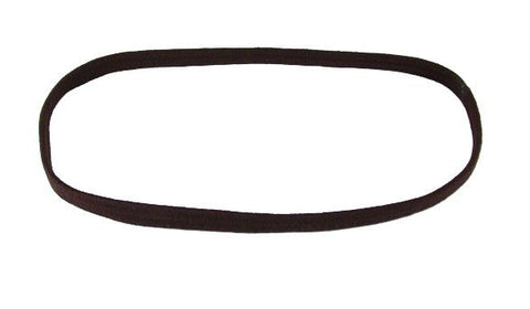 Wide Flat Metal Free Headband - Brown (pr.)