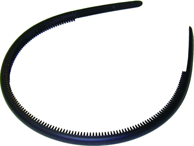 Headband Thin - Matte - Black