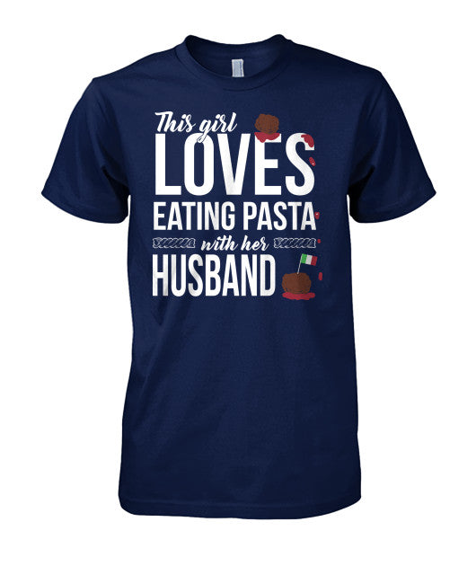 Eating Pasta With Husband