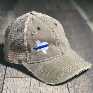 Thin Blue Line 50 States Mesh Back Cap