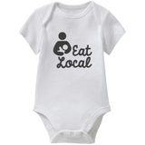 Eat Local Baby Onesie