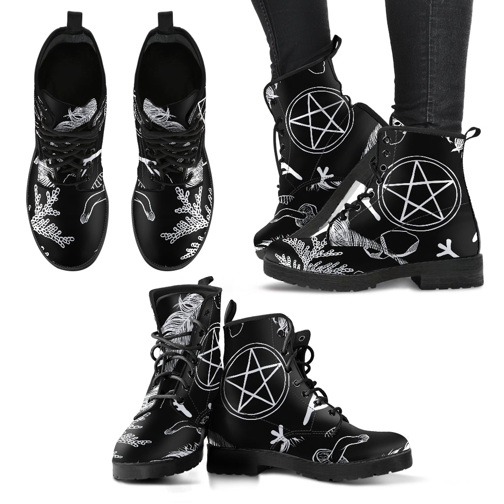 Women's Pentacle Spell Boots