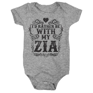I'd Rather Be With My Zia