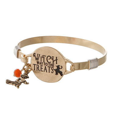 Witch Way to Treats Bracelet