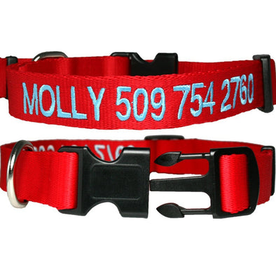 Custom Embroidered Dog Collar