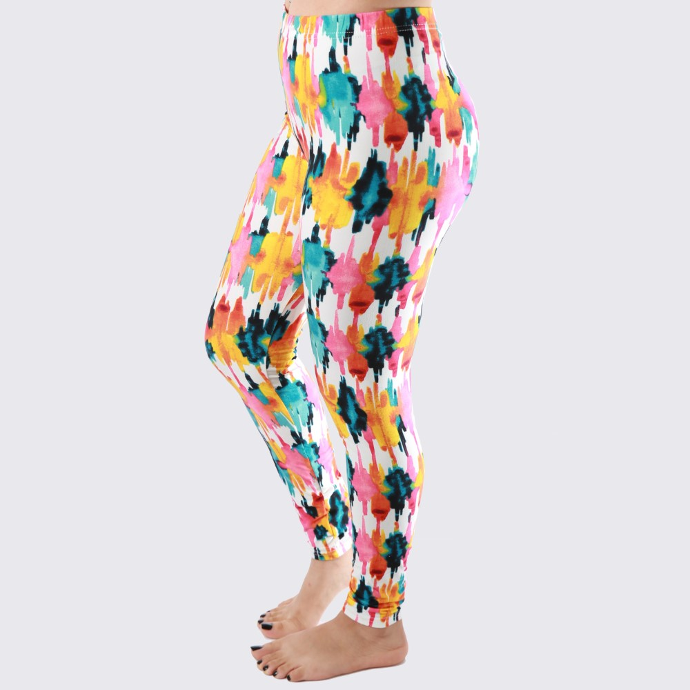 Mix Printed Leggings