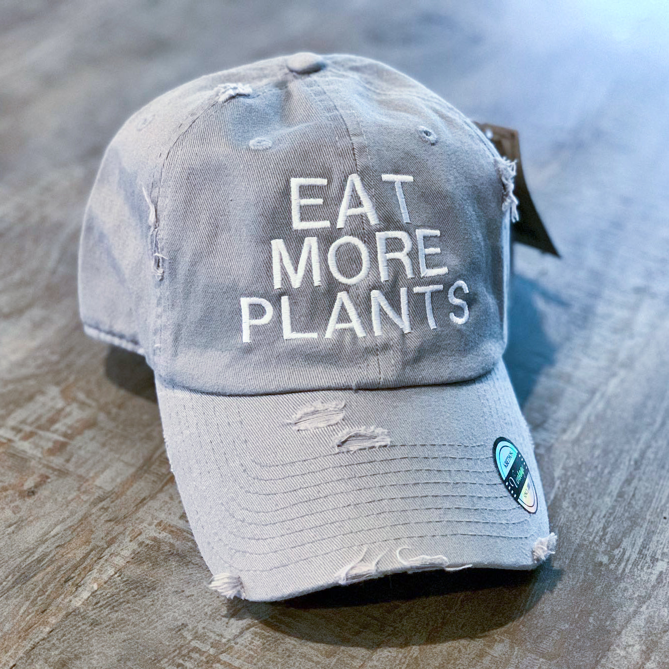 Eat More Plants Vintage Cap