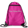Personalized Zippered Drawstring Sport Pack