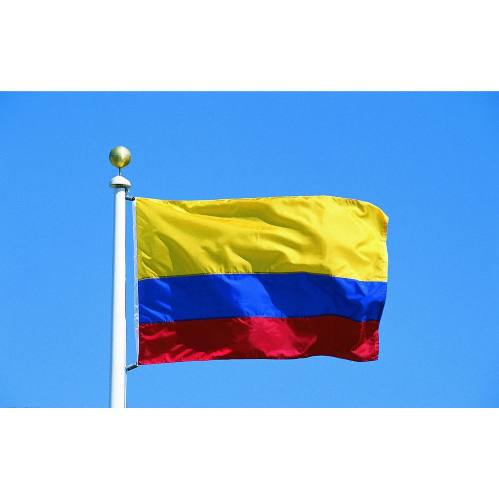 colombian flag shop with cre