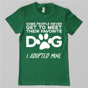 Adopted Favorite Dog