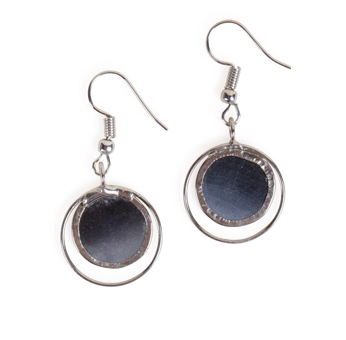 Gray Dusk Earrings