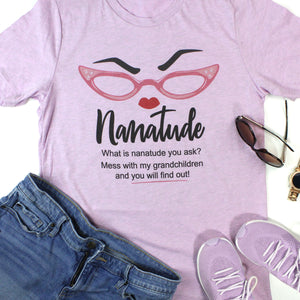 Nanatude Glasses Unisex Shirt