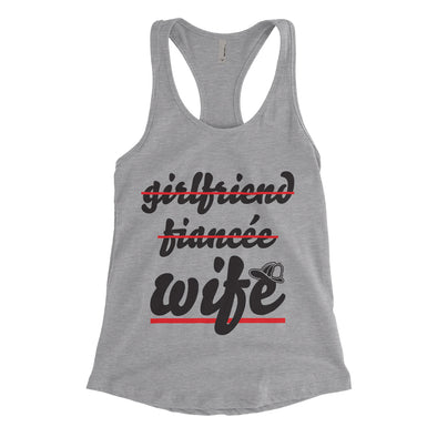 Girlfriend Fiancee Firefighter's Wife Ladies Tank
