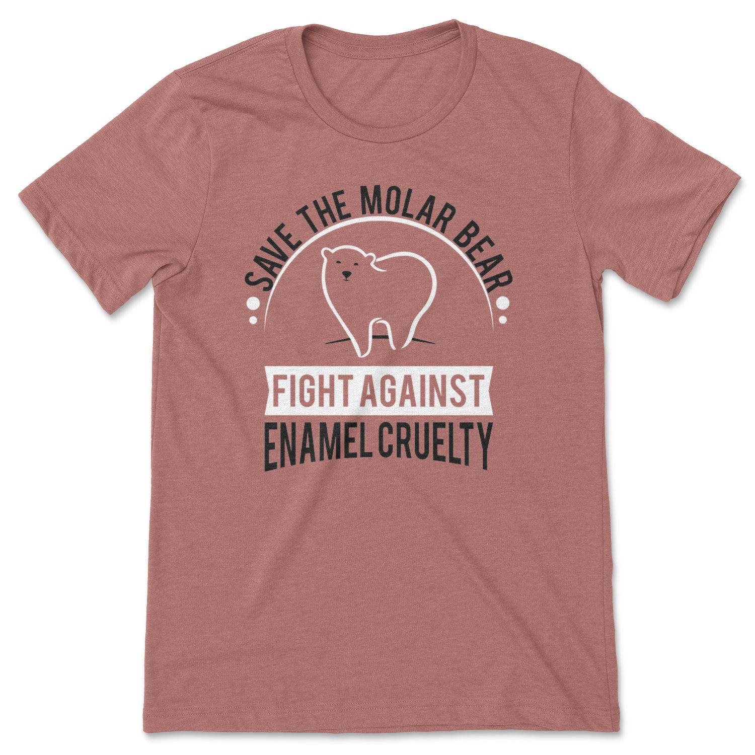 Save The Molar Bear Unisex Short Sleeve Shirt