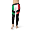 Italy Flag Heart Leggings
