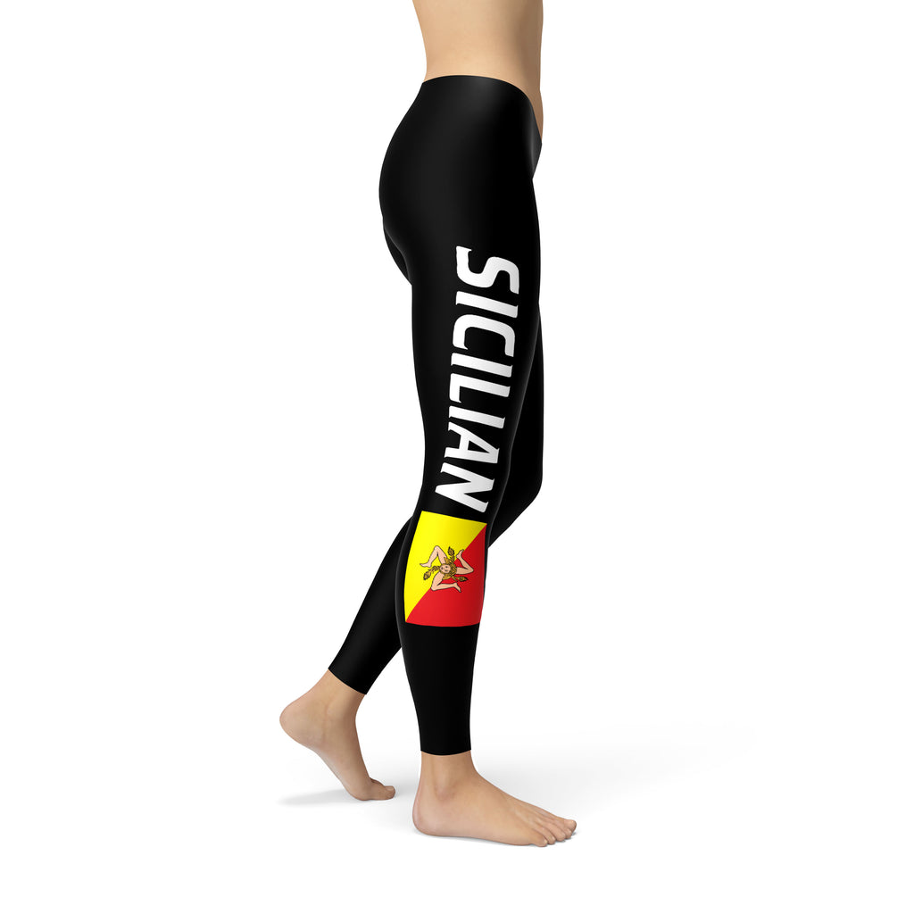 Sicilian Flag Leggings